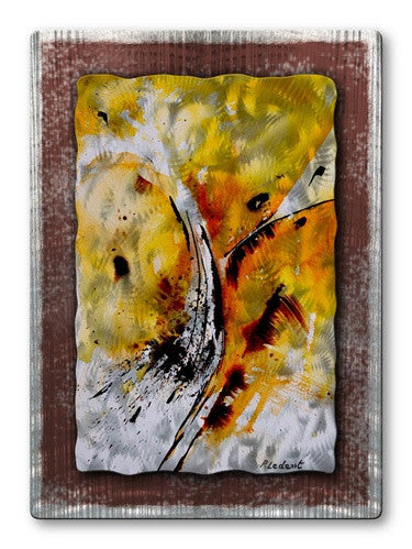 Gold - Metal Wall Art Decor - Pol Ledent