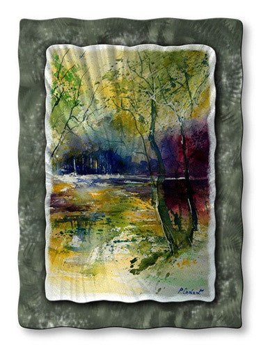 Colorful Way - Metal Wall Art Decor - Pol Ledent