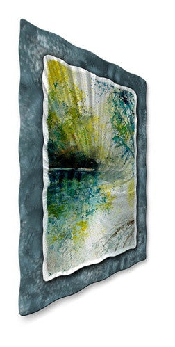 Clear Reflections - Metal Wall Art Decor - Pol Ledent