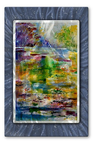 Bright River - Metal Wall Art Decor - Pol Ledent