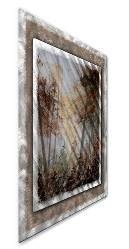 Wooded Scene - Metal Wall Art Decor - Pol Ledent