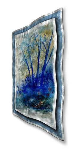 Gloomy Trees - Metal Wall Art Sculpture - Pol Ledent