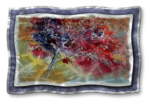Colors of the Tree - Abstract Steel Metal Welded Wall Art Decor - Pol Ledent