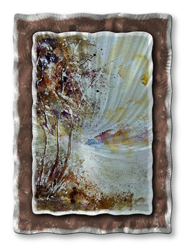 Road to Home - Abstract Sculpture Steel Metal Welded Wall Art Decor - Pol Ledent