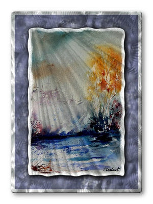 Cold Water - Metal Wall Art Decor - Pol Ledent