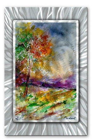 Colors of Nature - Metal Wall Art Decor - Pol Ledent