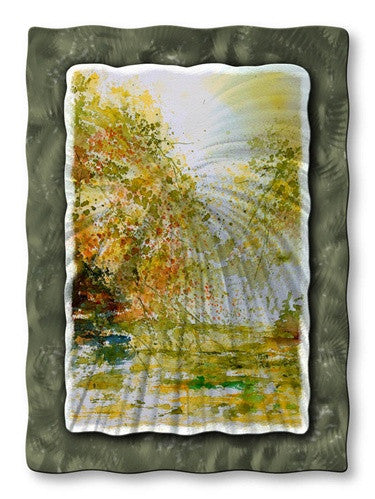 Early Fall - Abstract Steel Metal Welded Wall Art Decor - Pol Ledent