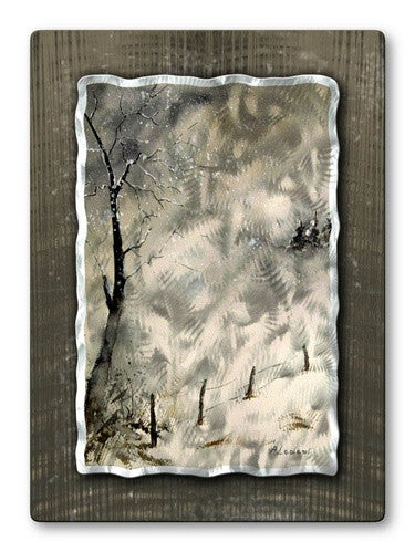 Early Fall - Abstract Hanging Steel Metal Welded Wall Art Decor - Pol Ledent