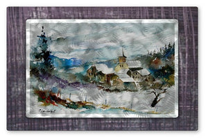 A Place Called Home - Metal Wall Art Decor - Pol Ledent