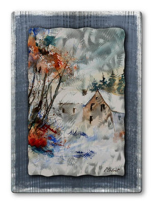 Colored Subtlety - Metal Wall Art Decor - Pol Ledent