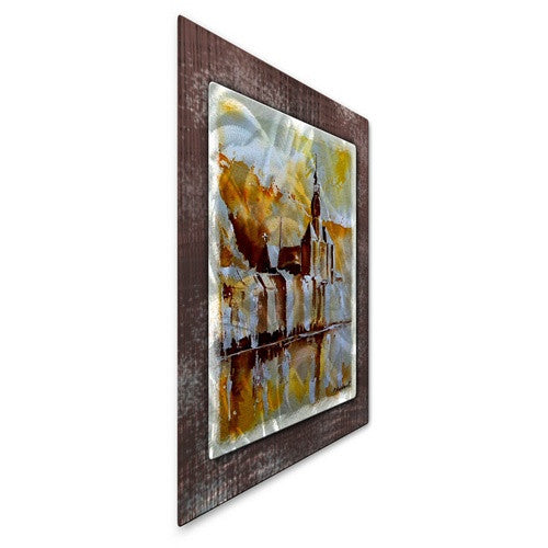 Reflection of Society - Metal Wall Art Decor - Pol Ledent