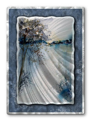 Dive In - Metal Wall Art Decor - Pol Ledent