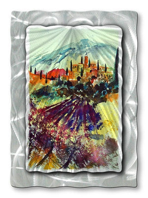 City in the Distance - Metal Wall Art Decor - Pol Ledent