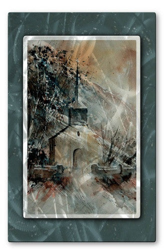 Dark Steeple - Metal Wall Art Decor - Pol Ledent