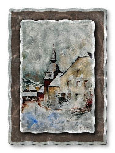 Beautiful Church - Metal Wall Art Decor - Pol Ledent