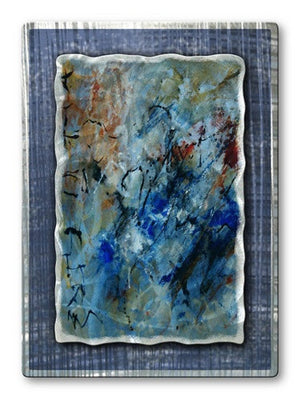 Cool Tones - Metal Wall Art Decor - Pol Ledent