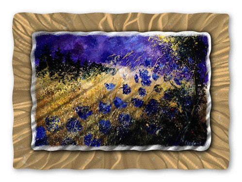 Cool Flowers - Metal Wall Art Decor - Pol Ledent