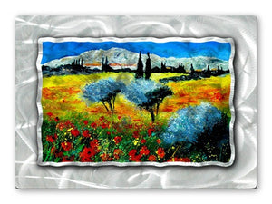Bold Field - Metal Wall Art Decor - Pol Ledent