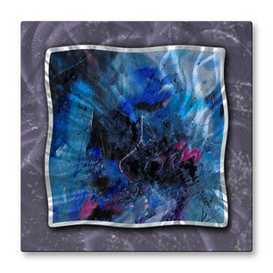 Indigo Motion - Metal Wall Art Decor - Pol Ledent