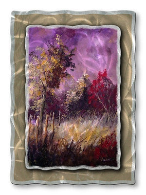 Country field - Metal Wall Art Decor - Pol Ledent