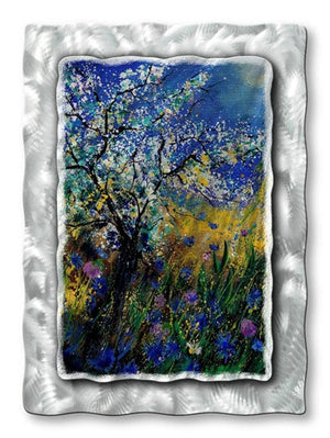 Blue Sky - Metal Wall Art Decor - Pol Ledent