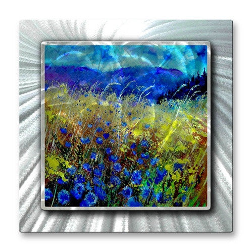 Foot of the Mountain - Metal Wall Art Decor - Pol Ledent