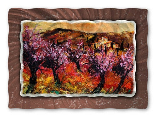 Blossoms in Spring - Metal Wall Art Decor - Pol Ledent