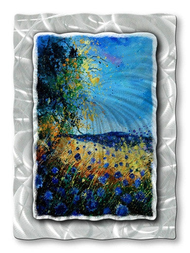 Cerulean Dreams - Metal Wall Art Decor - Pol Ledent