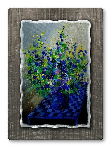 Beauty at Breakfast - Metal Wall Art Decor - Pol Ledent