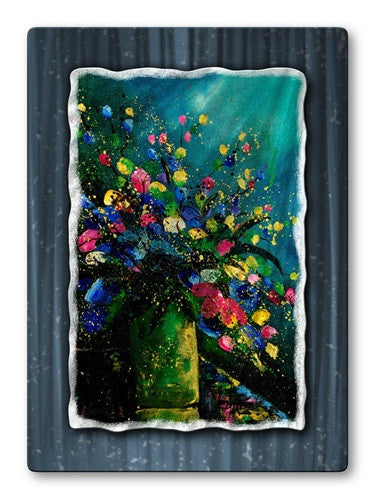 Bright Arrangement - Metal Wall Art Decor - Pol Ledent