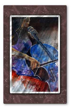 Dancing Notes - Metal Wall Art Decor - Pol Ledent