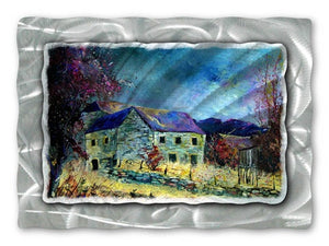 Classic Farm - Metal Wall Art Decor - Pol Ledent