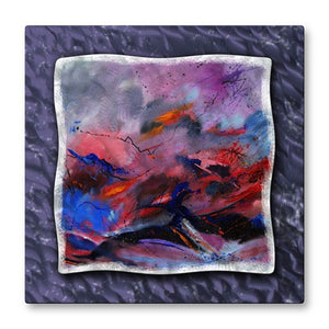 Crashing Waves - Painted Steel Metal Welded Wall Art Decor - Pol Ledent