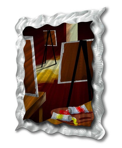 Artistic Easels - Metal Wall Art Decor - Ash Carl Designs