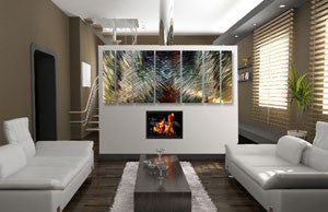 Infinity Contemporary Modern Wall Art