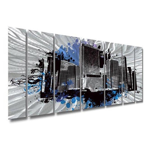 Ash Carl Designs SWM00094 - Metal Wall Art Decor - Ash Carl Designs