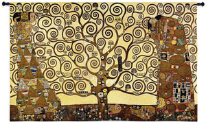 tree of life stoclet frieze tapestries