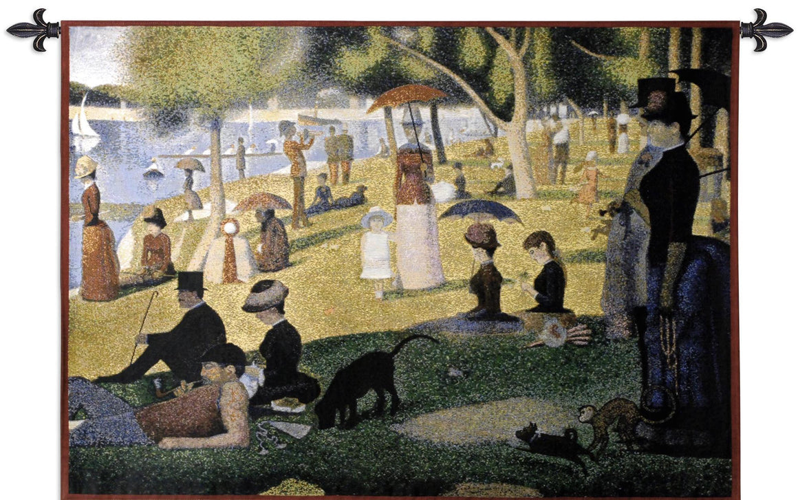 Sunday Afternoon by Seurat Wall Hangings