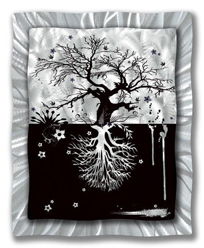 What Grows Up... - Metal Wall Art Decor - Ash Carl Designs