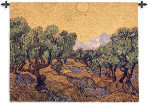 The Olive Trees wall tapestries