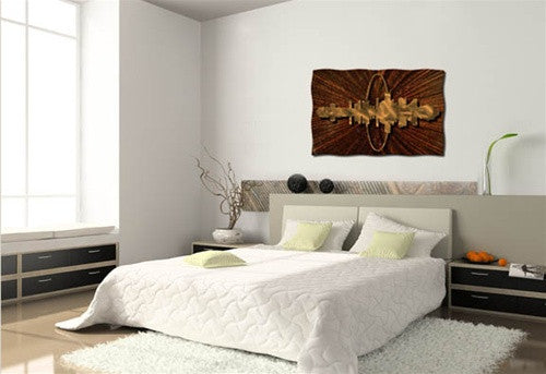 St. Louis Living - Metal Wall Art Decor - Ash Carl
