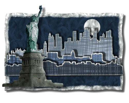 Urban & City Metal Wall Art