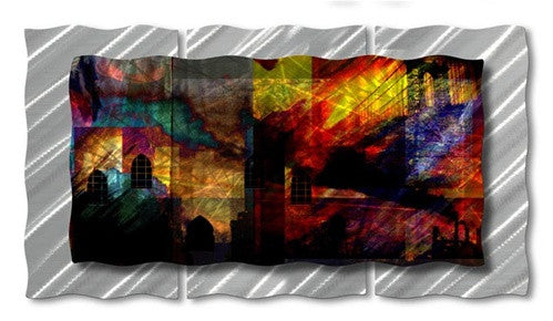 Architecture Admiration - Metal Wall Art Decor - Ash Carl Designs