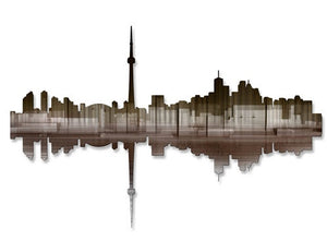 Toronto Reflection II - Metal Wall Art Decor - Ash Carl Designs