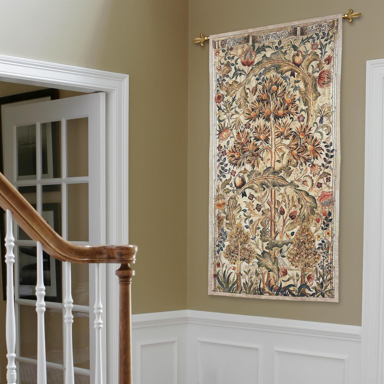 Morris Quince Tree Textile Hanging Tapestry