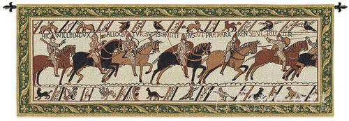 Bayeux Battle of Hastings Textile Wall Hanging