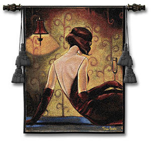 After Eight Jacquard Woven Wall Tapestry