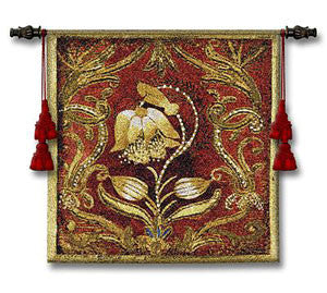 Bel Tesoro Floral Textile Decoration