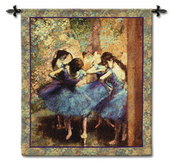 Dancers in Blue by Degas tapestries