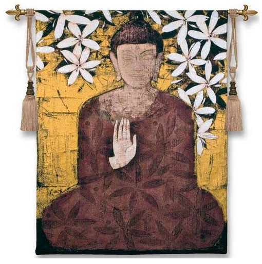 Enlightenment Asian Woven Tapestry